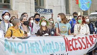 La pre-COP26 de Milán se convierte en un aviso de los activistas a los políticos de cara a Glasgow