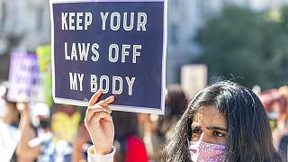 Rally for Abortion Justice on Saturday, Oct. 02, 2021 in Washington.