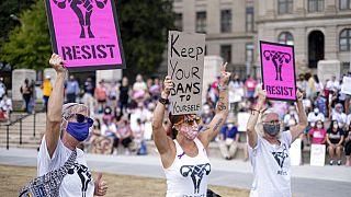 Défilé pour le droit à l'avortement à Atlanta (USA), le 02/10/2021