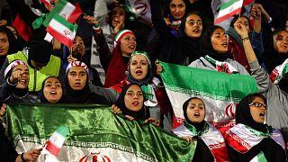 Female Iranian spectators