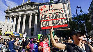 """USA: """"Marsch der Frauen"""" gegen Anti-Abtreibungsgesetz in Texas"""