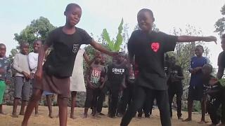 'They have dreams': How dance helps child victims of Congo volcano beat trauma