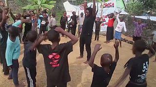 RDC : la danse comme thérapie pour les enfants