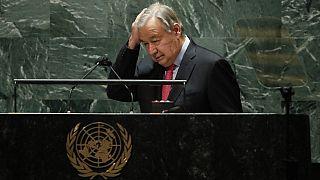 الأمين العام للأمم المتحدة أنطونيو غوتيريش - أيلول / سبتمبر 2021
