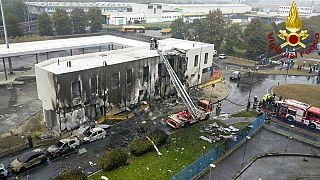 Un avion de tourisme s'écrase près de Milan : huit morts
