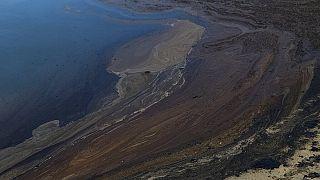 Derrame de petróleo na Califórnia encerra praias