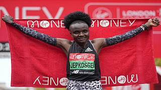 Ethiopia's Lemma, Kenya's Jepkosgei win London Marathon