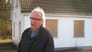 Ο σκιτσογράφος Λαρς Βιλκς