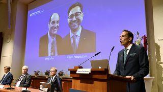 Anúncio do Prémio Nobel da Medicina