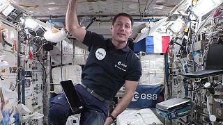 Thomas Pesquet à bord de la Station spatiale internationale, le 3 septembre 2021