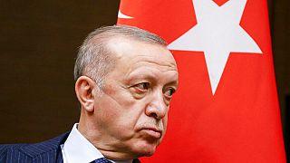 Erdogan in Sotschi Ende September 2021