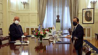Νίκος Δένδιας - Νίκος Χριστοδουλίδης