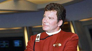 Az űrbe utazik a Star Trek Kirk kapitánya