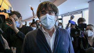 الرئيس السابق لإقليم كتالونيا كارلس بوتشدمون