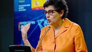 وزيرة الخارجية الإسبانية السابقة أرانتشا غونثاليث لايا.