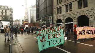 Kundgebung in Zürich