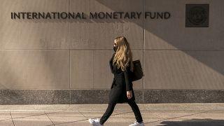 مبنى صندوق النقد الدولي في واشنطن.