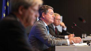 Συνέντευξη τύπου μετά την ολοκλήρωση της συνεδρίασης του Eurogroup