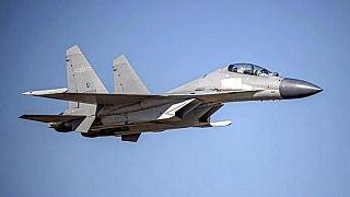 56 harci repülőt küldött Kína Tajvan légterébe