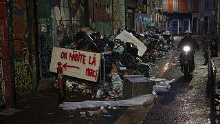 Marsella, inundada de basura