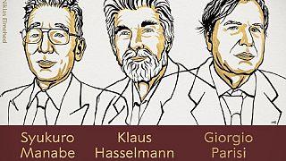 Ilustración de los tres ganadores