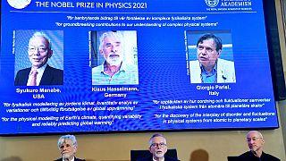 Bekanntgabe der Preisträger in Storckholm