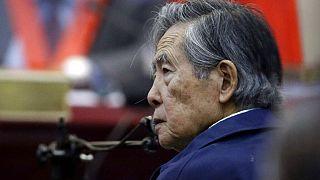 El expresidente de Perú Alberto Fujimori