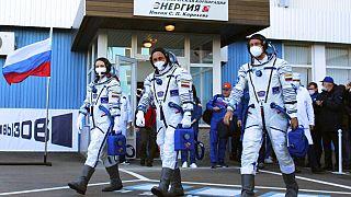Schneller als Tom Cruise: Russen drehen ersten Spielfilm auf der ISS