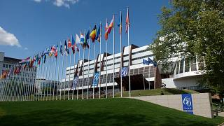 Front view of the Council of Europe