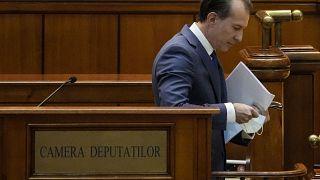Romanian Prime Minister Florin Citu