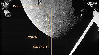 Uno de los primeros retratos de Mercurio a solo 1.000 km de la superficie.