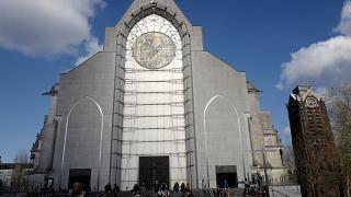 Una iglesia en Lille, en el norte de Francia, el 19 de marzo de 2021. Imagen de ilustración.