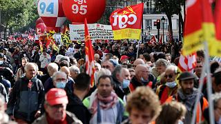 Γαλλία: Στους δρόμους τα συνδικάτα, ζητούν μεγαλύτερους μισθούς λόγω της αύξησης κόστους διαβίωσης