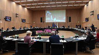قمة الاتحاد الأوروبي في قصر بردو على مقربة من العاصمة السلوفينية، 5 أكتوبر 2021