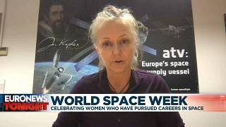 Loredana Bessone, ESA CAVE Spaceflight lead discusses young girls pursuing careers in space
