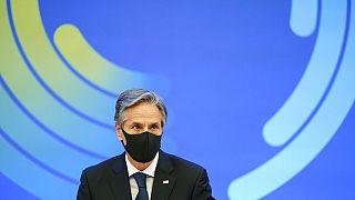 US-Außenminister Blinken beim Ministerratstreffen der OECD in Paris, 5.10.2021