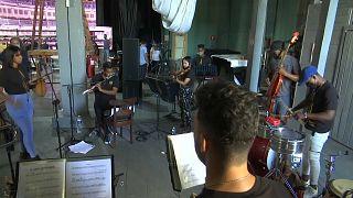 Ensayos de la Orquesta Faílde