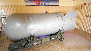 آخر قنبلة نووية أميركية من طراز B53. فككت القنبلة التي كانت تزن أكثر من 4500 كيلوغراما الثلاثاء 25 أكتوبر 2011