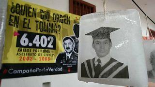 Una de las víctimas de las ejecuciones extrajudiciales en Colombia