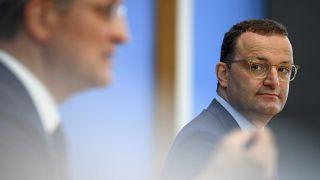 RKI-Chef Lothar Wieler (links) und Bundesgesundheitsminister Jens Spahn (CDU)