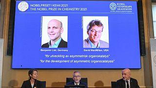 اعلام برنده جایزه نوبل شیمی