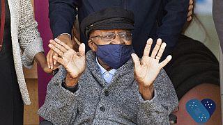 South African Archbishop Desmond Tutu celebrates 90th birthday