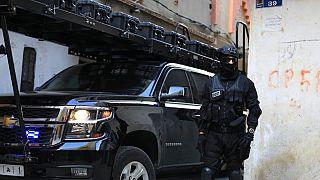 عنصر من قوات الأمن المغربية