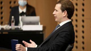 Sebastian Kurz beim EU-Gipfel in Slowenien