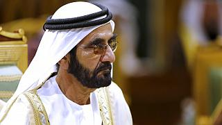 Dubai ruler Sheikh Mohammed bin Rashid Al Maktoum attends the 40th Gulf Cooperation Council Summit in Riyadh, Saudi Arabia, December 10, 2019.