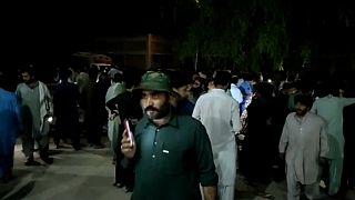 Súlyos földrengés volt Pakisztánban