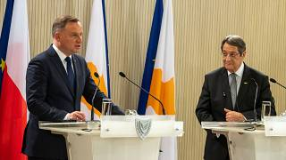Κύπρος - Επίσημη επίσκεψη του Προέδρου της Πολωνίας