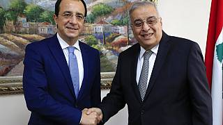 Οι υπουργοί Εξωτερικών Κύπρου - Λιβάνου