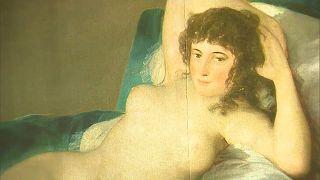 """""""La maja desnuda"""" de Francisco de Goya"""