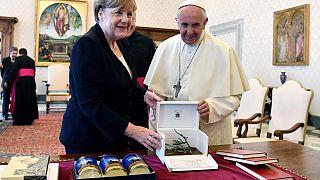 A última visita da Chanceler Merkel ao Papa Francisco
